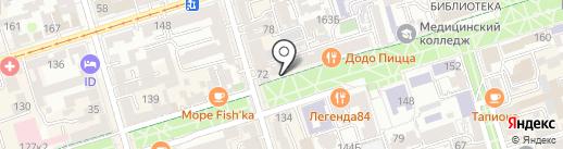 SamovarHorse на карте Ростова-на-Дону
