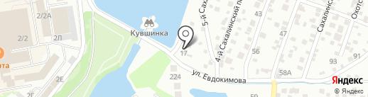 Служба проката лодок и велосипедов на карте Ростова-на-Дону