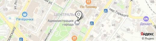 Департамент по взаимодействию с правоохранительными органами на карте Сочи