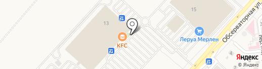 Corsar на карте Ростова-на-Дону