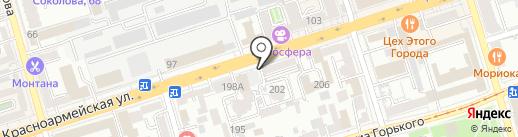 Komandor на карте Ростова-на-Дону