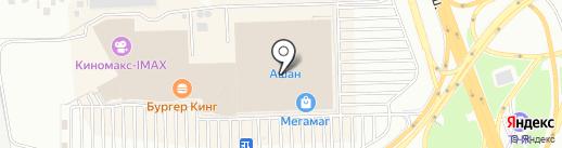 Россиянка на карте Ростова-на-Дону