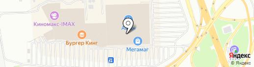 Элекснет на карте Ростова-на-Дону