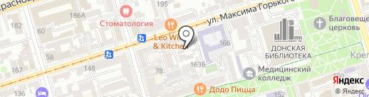 Студия дизайна машинной вышивки на карте Ростова-на-Дону