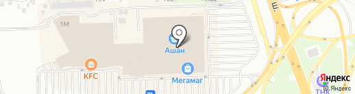 Детская игротека на карте Ростова-на-Дону