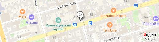 Coffee на карте Ростова-на-Дону