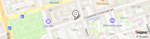 SKANDAL на карте Ростова-на-Дону
