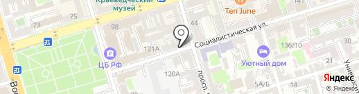 HIP SHOP на карте Ростова-на-Дону