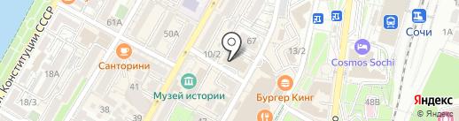 Адвокат, ЗАО на карте Сочи