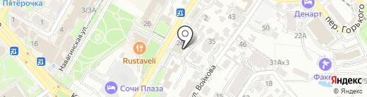 ГАЙДЕ на карте Сочи