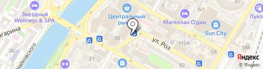Магазин цветов на карте Сочи