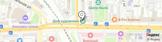 Rapido Pizza & Sushi на карте Рязани