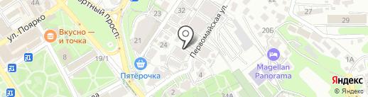 Уральский Завод Камня-Юг на карте Сочи