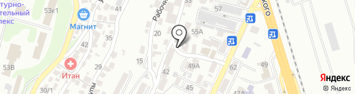Пивной бар на карте Сочи
