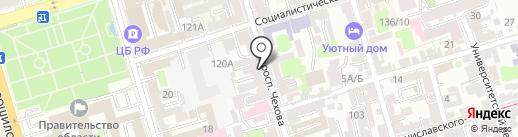 Гармония на карте Ростова-на-Дону