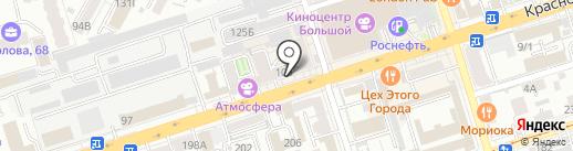 Кухни ТРИО на карте Ростова-на-Дону
