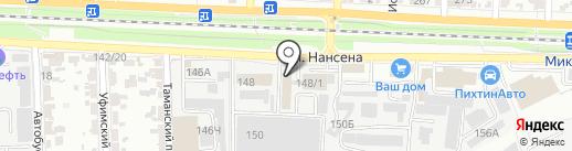 РостГрупп на карте Ростова-на-Дону