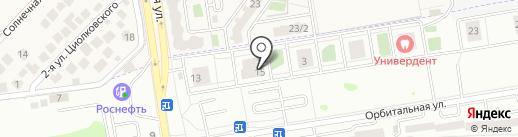 Норд на карте Ростова-на-Дону