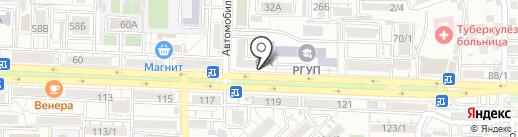 Магазин-салон на карте Ростова-на-Дону