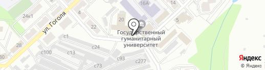 Ателье широкоформатной печати на карте Рязани