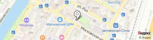 Центрофинанс Групп на карте Сочи