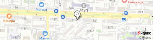 ROSSEC на карте Ростова-на-Дону