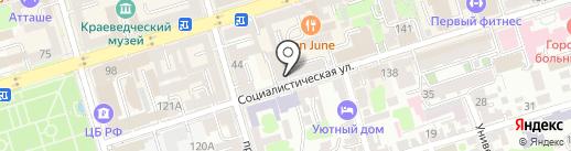 PROНОГТИ на карте Ростова-на-Дону