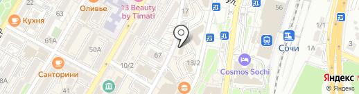 GROZA на карте Сочи