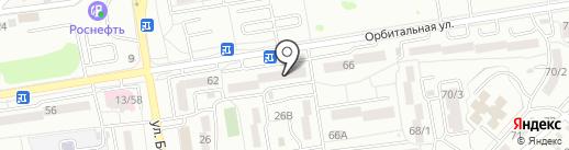 Киви на карте Ростова-на-Дону
