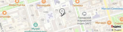 PandaShop на карте Ростова-на-Дону
