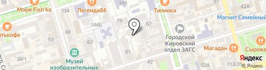 Элейт-Дон на карте Ростова-на-Дону