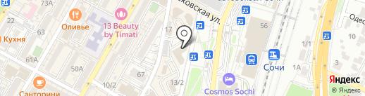 FIT-N-GO на карте Сочи
