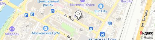 NEW LeveL на карте Сочи