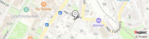 Территориальный отдел №14 на карте Сочи