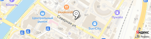 Гармония на карте Сочи