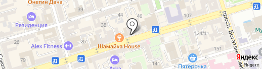 Ninety nine studio на карте Ростова-на-Дону