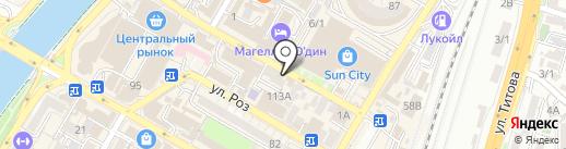 Авторская студия Екатерины Кузнецовой на карте Сочи