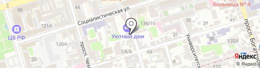 ЛСР. Клинкер тротуарный на карте Ростова-на-Дону