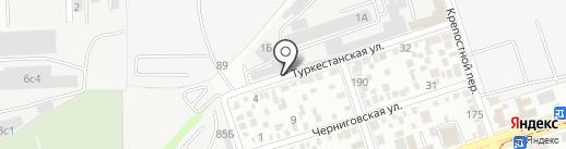 CCTV на карте Ростова-на-Дону