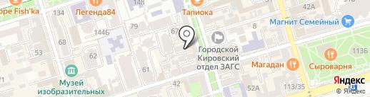 Фаворит на карте Ростова-на-Дону