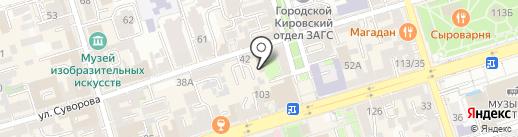 Just Cooking на карте Ростова-на-Дону