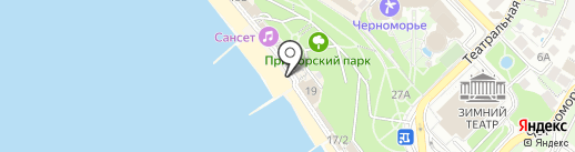 Sea Zone на карте Сочи