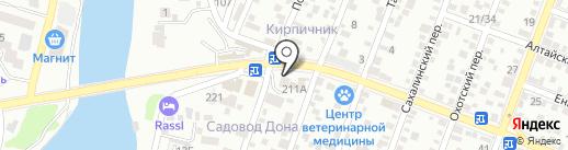 Техноплаза на карте Ростова-на-Дону