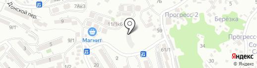 Эльсинор на карте Сочи