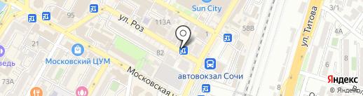 VooDooTeam на карте Сочи