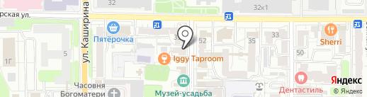 Магазин кондитерских изделий на карте Рязани