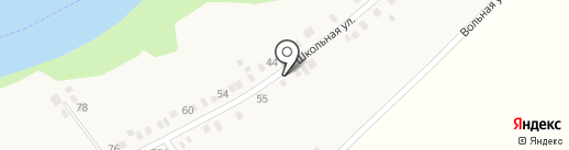Продуктовый магазин на карте Заречного
