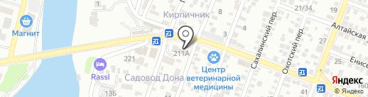 Магазин стройматериалов на карте Ростова-на-Дону
