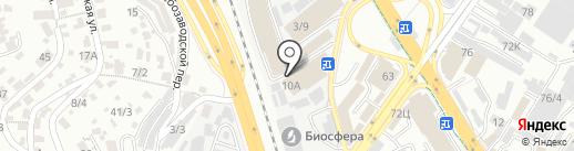 Магазин кондитерских изделий на карте Сочи