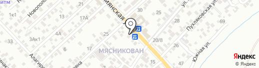 Максимум на карте Ростова-на-Дону